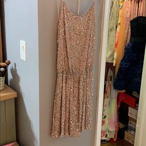 alice & olivia sparkle mini dress